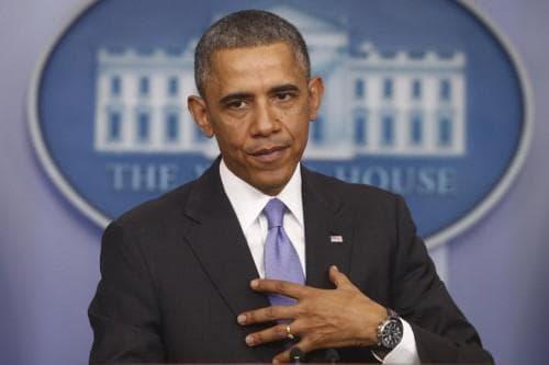 President Barack Obama speaks about his signature health care law, Thursday, Nov. 14. (AP)