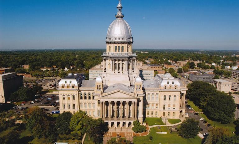 Illinois lawmakers are convening in the state capitol for what could be a historic vote to finally close the gap on the state's $100 billion public pension shortfall. (Terry Farmer photography)