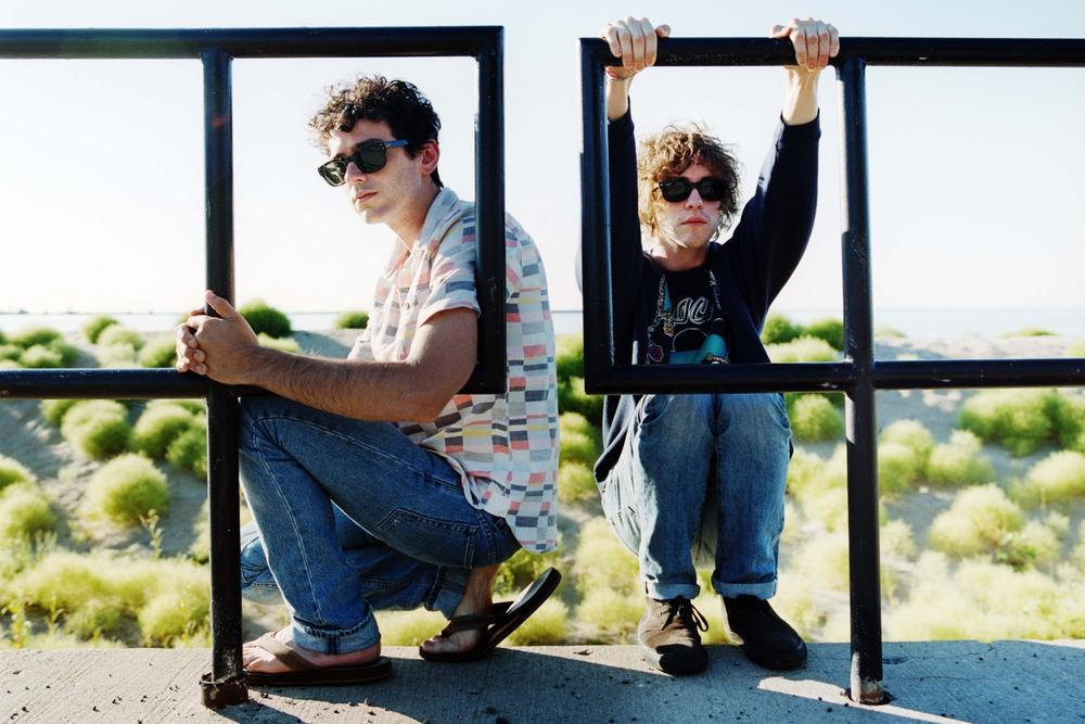 Ben Goldwasser, left, and Andrew VanWyngarden, right, are the founding members of MGMT. (Danny Clinch)