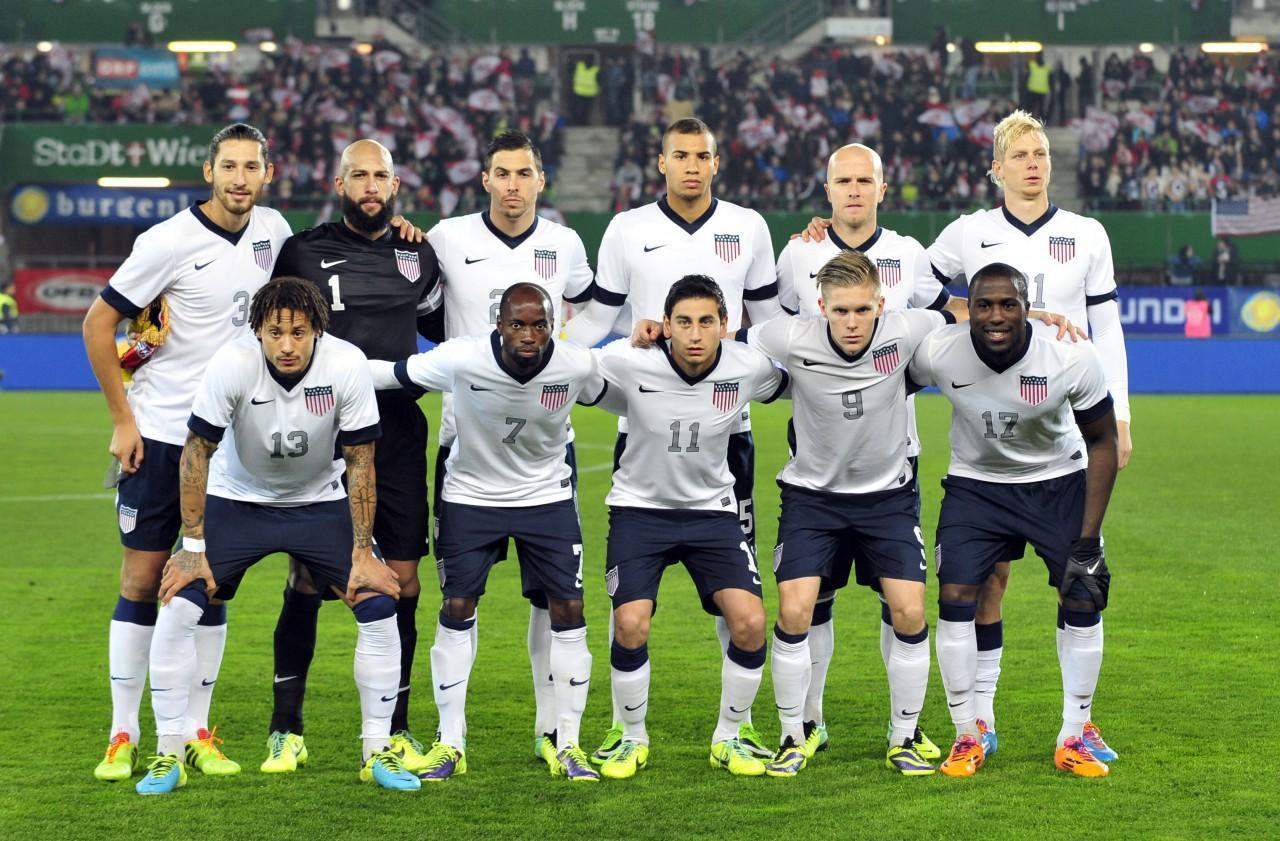 The U.S. men's soccer team has a tough road ahead in the 2014 World Cup. (Hans Punz/AP)