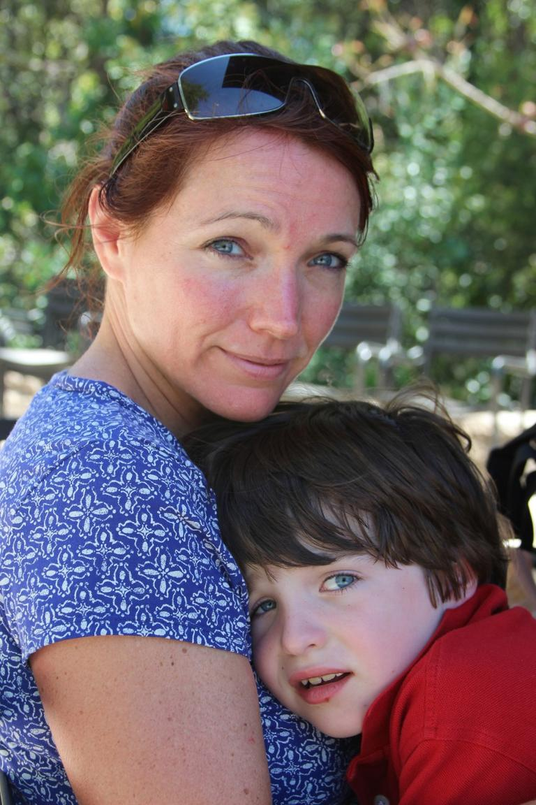 Nicole Hockley is pictured with her son Dylan, who was killed in the Newtown school shooting last year. (dylanhockleypictures/Flickr)