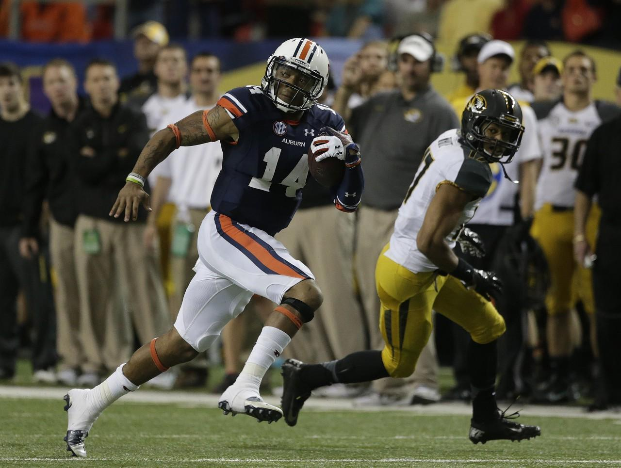 Quarterback Nick Marshall and Auburn will meet Florida State in the BCS Championship. (Dave Martin/AP)