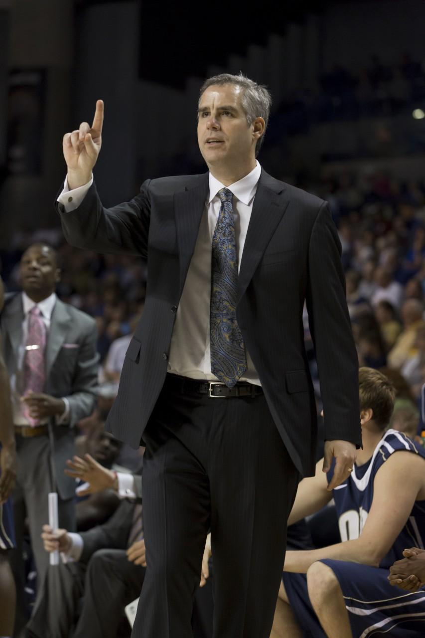 Scott Sutton has been head coach at Oral Roberts since 1999. (Courtesy of ORU Media Relations)