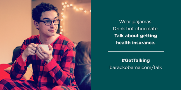 "The ""Pajama Boy"" ad was created by the political nonprofit Organizing For America, which works to promote the new health law."