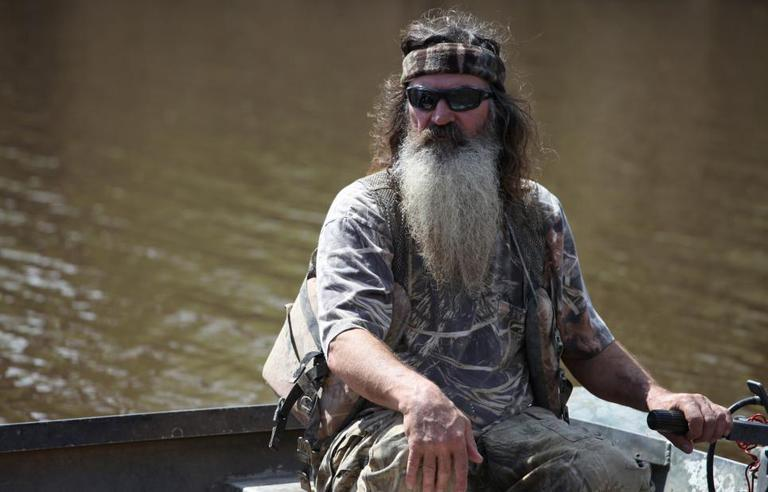 """Phil Robertson is the patriarch of the family at the center of the reality show """"Duck Dynasty."""" (A&E)"""