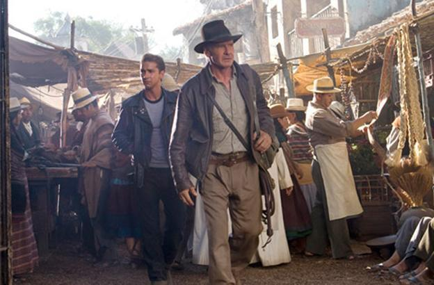 "A scene from the most recent ""Indiana Jones"" film. Disney recently reached an agreement with Paramount allowing Disney to control future production in the Indiana Jones franchise. (indianajones.com)"