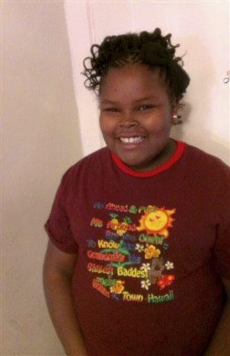 Jahi McMath remains on life support at Children's Hospital Oakland after doctors declared her brain dead. (Courtesy of McMath Family and Omari Sealey via AP)