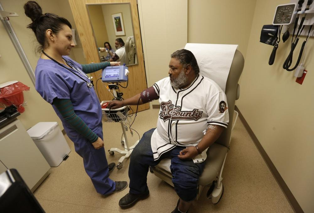 In a new JAMA study, Asian, Hispanic and Black patients were 19-26 times more likely to be care for by a minority physician of their same race. (Rick Bowmer/AP)