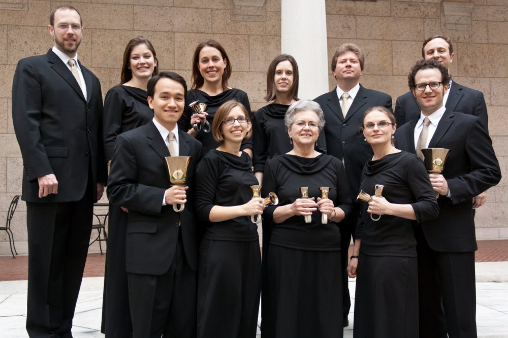Artistic Director Griff Gall (far left) and the Back Bay Ringers (Credit: Back Bay Ringers)