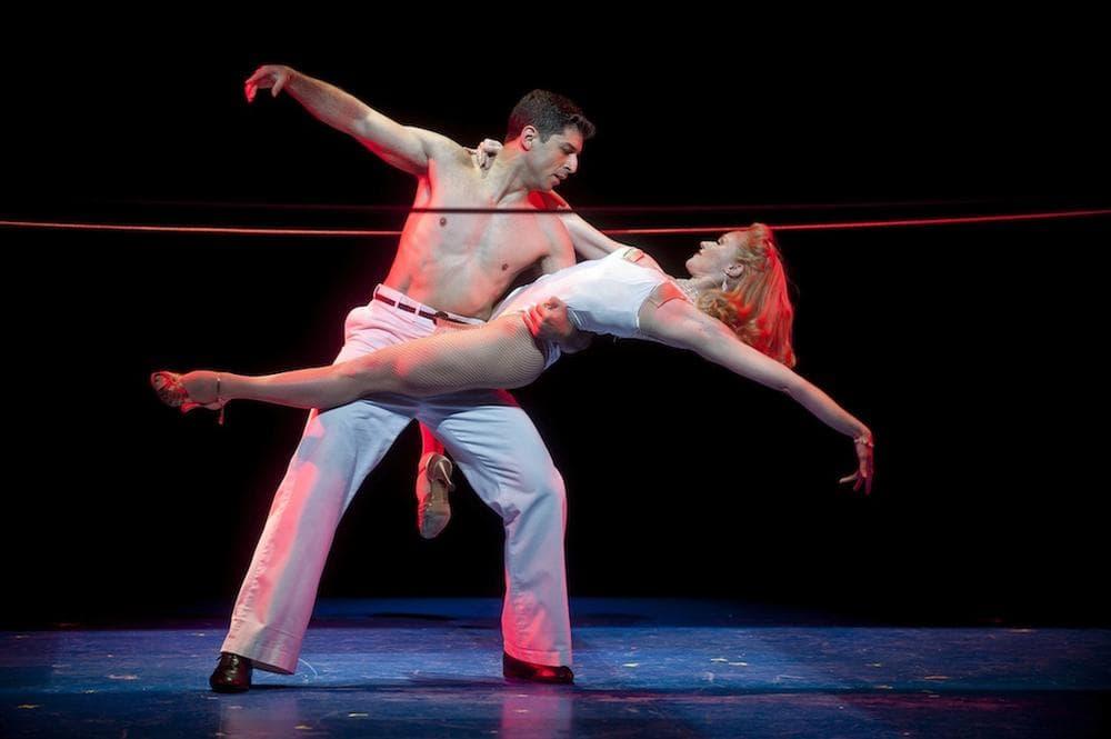 "Tony Yazbeck and Deanna Doyle in Barrington Stage Company's ""On the Town."" (Kevin Sprague)"