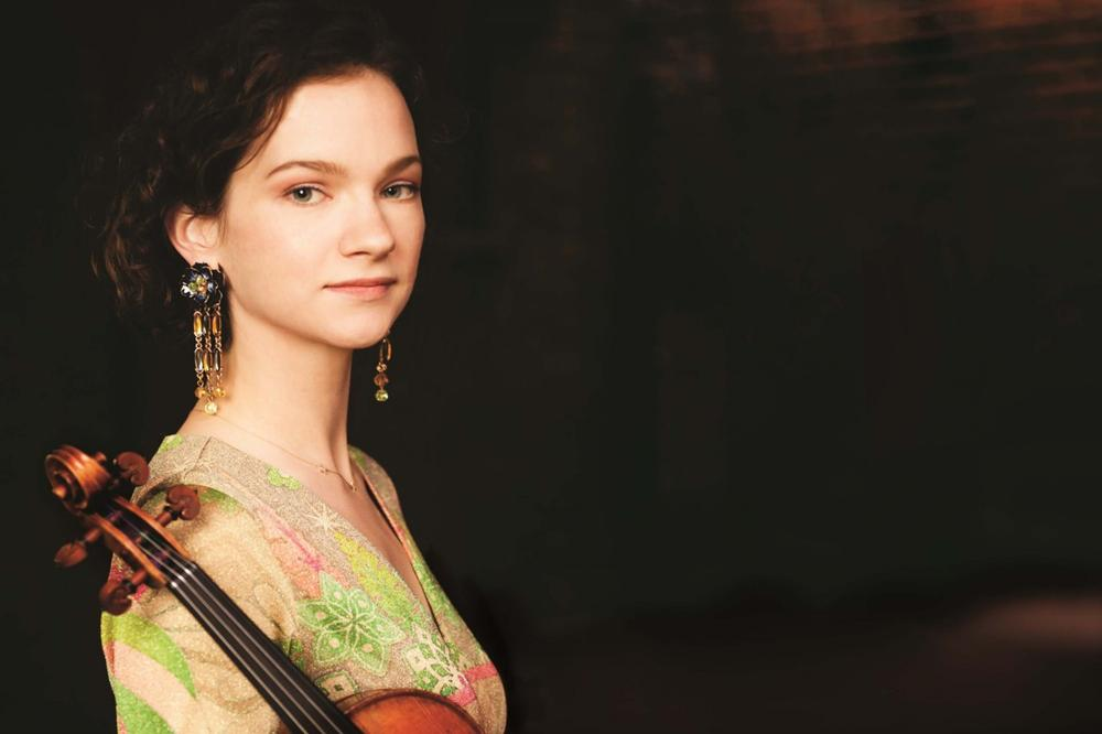 Violinist Hilary Hahn (Michael Patrick O'Leary/IMG Artists)