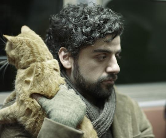 "Oscar Isaac and friend star in ""Inside Llewyn Davis."" (Courtsy, CBS FIilms)"