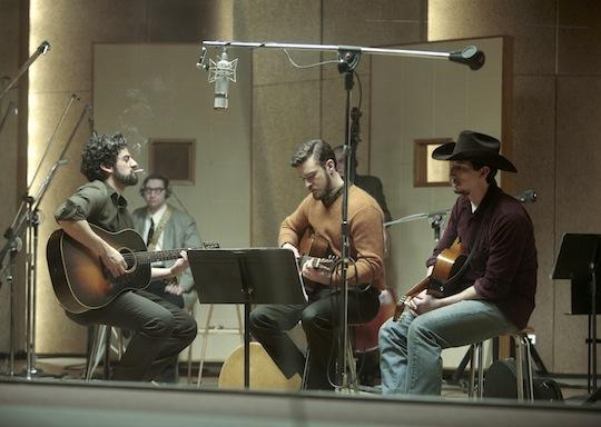 "Oscar Isaac, Justin Timberlake and Adam Driver in ""Inisde Llewyn Davis."" (AP/CBS Films)"