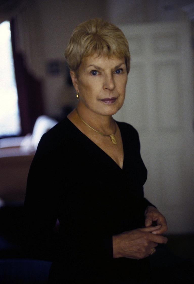 Ruth Rendell. (Jerry Bauer)