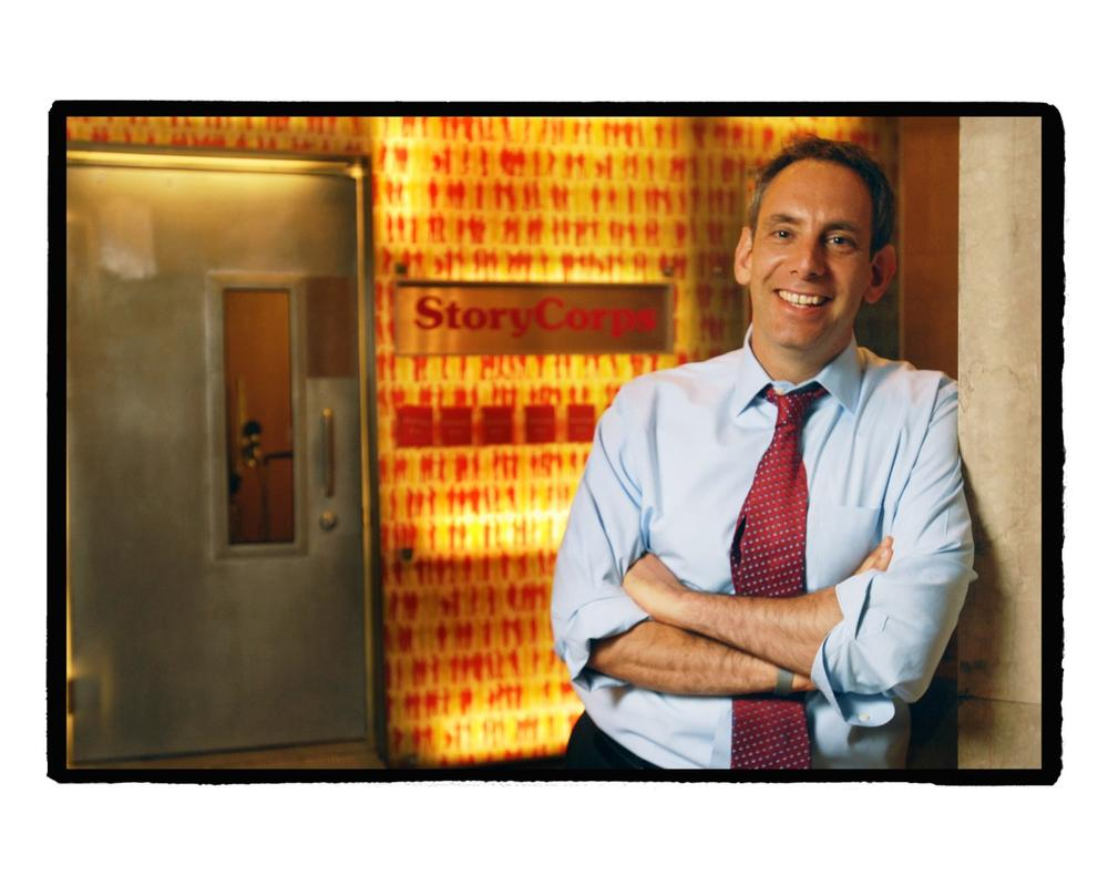 StoryCorps founder and president, Dave Isay. (Credit: StoryCorps)