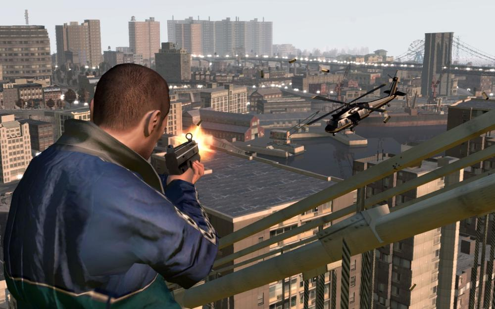 A screenshot from the video game Grand Theft Auto.