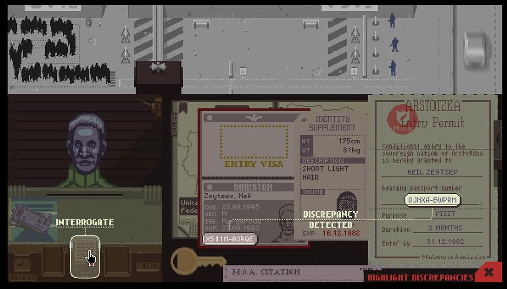 """Papers, Please"" (Courtesy)"