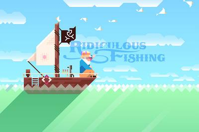 """Ridiculous Fishing - A Tale Of Redemption"" (Courtesy)"