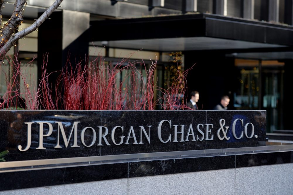 The headquarters of JPMorgan Chase on Park Avenue in New York on December 12, 2013. (Stan Honda/AFP/Getty Images)