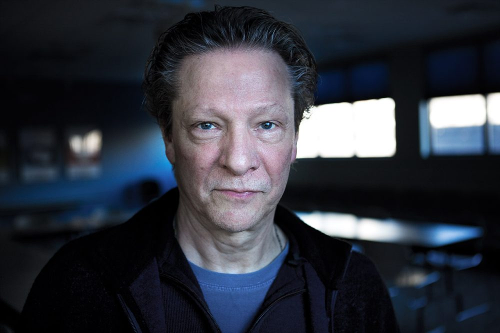 Chris Cooper is pictured in the Here & Now studios on Jan. 9, 2014. (Jesse Costa/Here & Now)