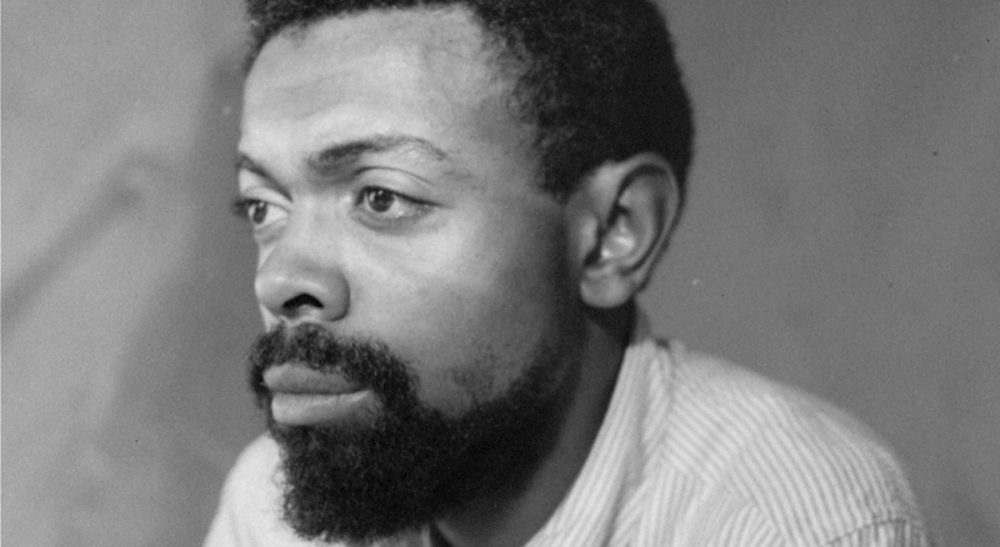 Playwright, poet and activist Amiri Baraka pictured on June 30, 1964. (AP)