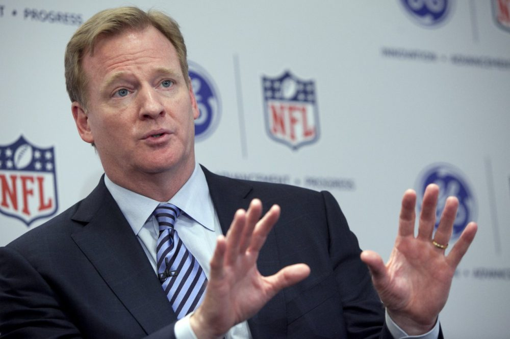 In a letter to team owners, NFL Commissioner Roger Goodell (Allison Joyce/Getty Images)