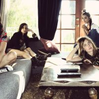 Warpaint's self-titled album comes out Jan. 21. (Mia Kirby/Courtesy of the artist)