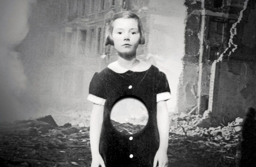 """An image from the cover of """"Hollow City"""" by Ransom Riggs, the sequel to """"Miss Peregrine's Peculiar Children."""" (Quirk Books)"""