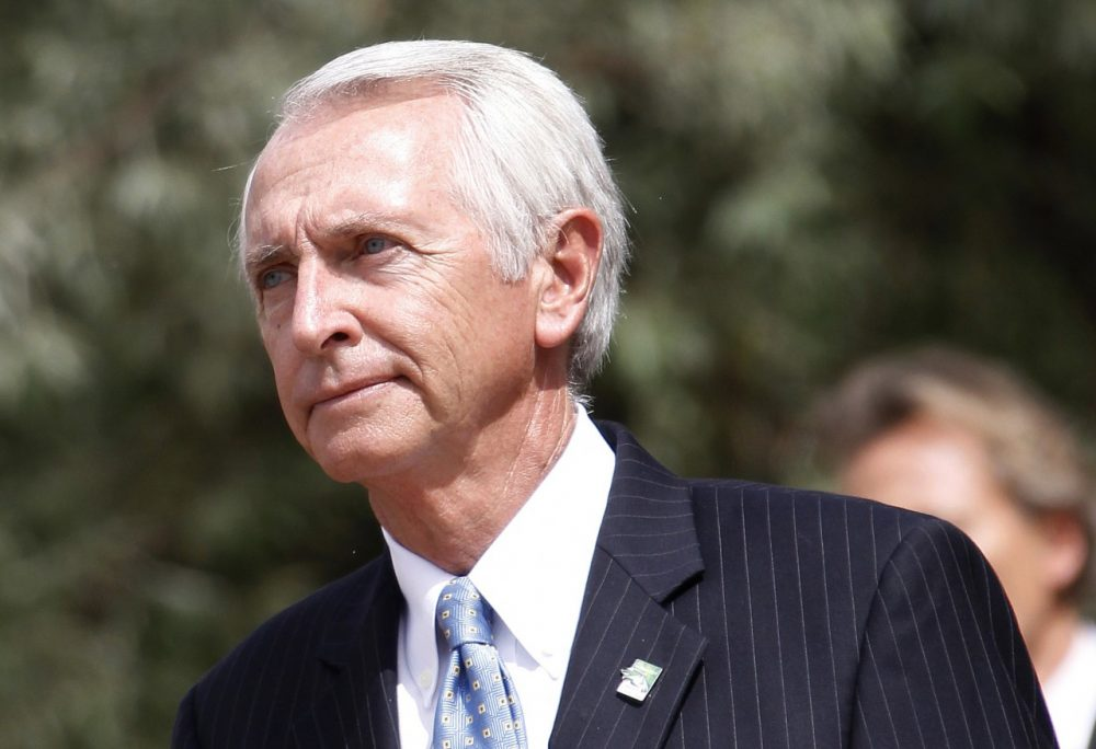Kentucky Governor Steve Beshear is pictured in August 2012. (Charly Triballeau/AFP/GettyImages)