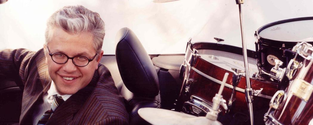 Jazz drummer Matt Wilson. (Courtesy of Braithwaite & Katz).