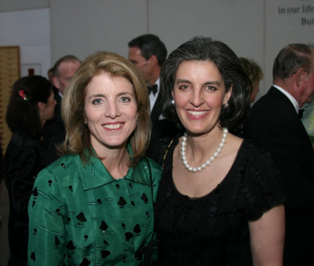 Caroline Kennedy, honorary President of the John F. Kennedy Library Foundation, with Heather Campion, newly appointed CEO of the Foundation. (John F. Kennedy Presidential Library and Museum/Tom Fitzsimmons)
