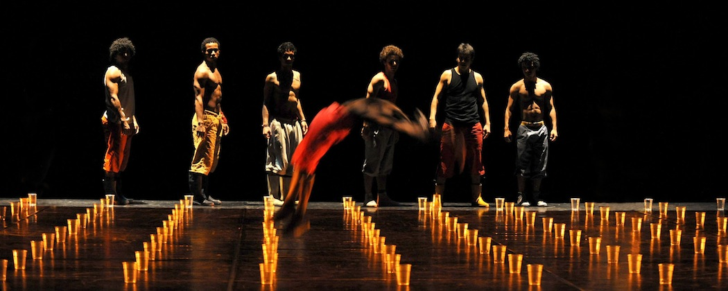 Compagnie Kafig, who are performing at the Shubert Theatre for the Celebrity Series of Boston Feb. 7-9.  (Michel Cavalca)