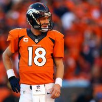 Peyton's getting old, perhaps a career in poems, will be his future. (Justin Edmonds/Getty Images)