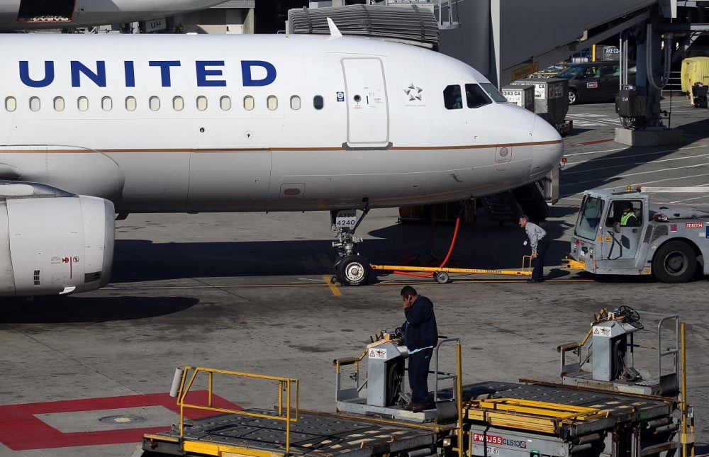 A United Airlines plane sits on the tarmac at San Francisco International Airport on January 23, 2014 in San Francisco, California. United Airlines parent company United Continental Holdings reported a surge in fourth quarter profits with earnings of $140 million compared to a loss of $620 million one year ago. (Justin Sullivan/Getty Images)