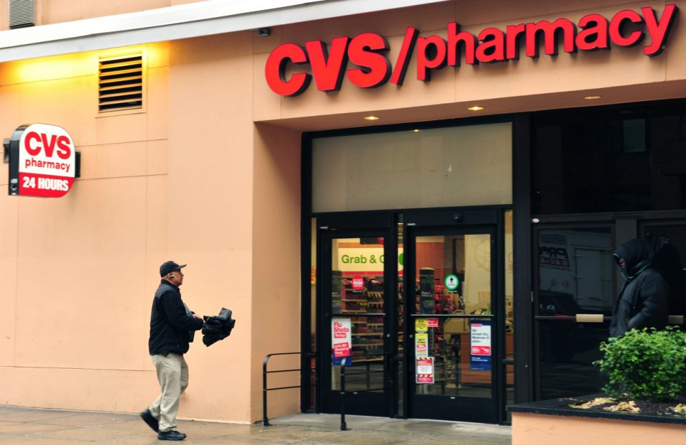 A man enters a CVS drugstore February 5, 2014 in Washington, D.C. The second-largest U.S. drugstore chain says its 7,600 stores across the country will cease tobacco sales by October 1, 2014, despite the projected $2 billion loss the move will entail. (Karen Bleier/AFP/Getty Images)