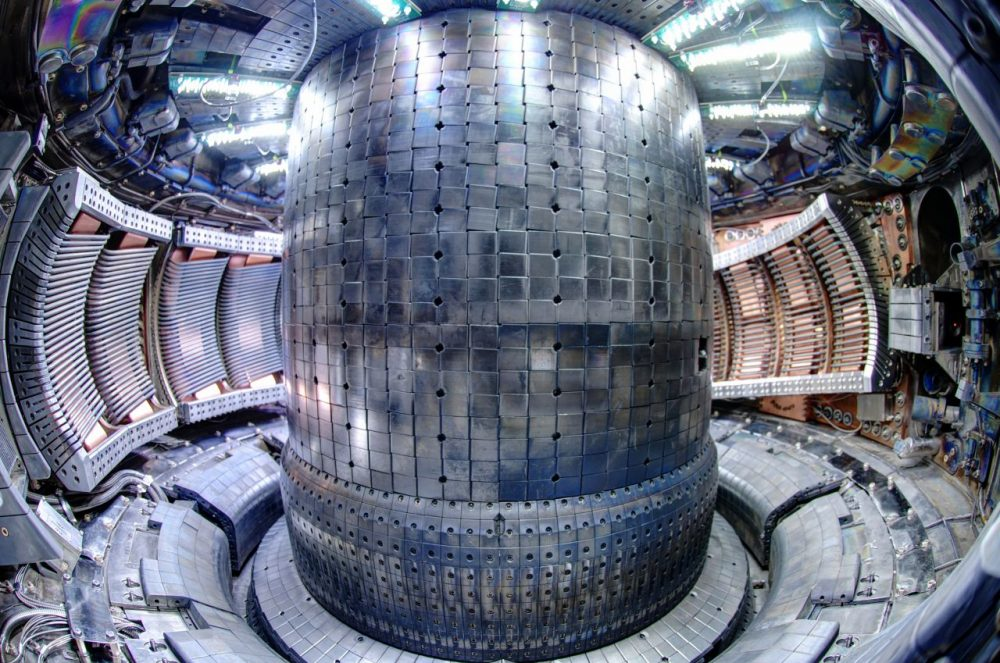 Click here for an interactive tour of the inside of the Alcator C-Mod reactor at the MIT Plasma Science and Fusion Center. (Courtesy MIT)