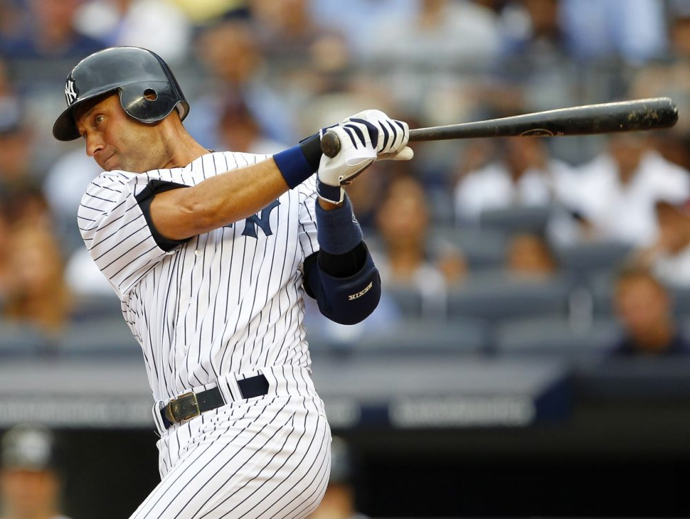 Jeter will be retiring his pinstripes after the 2014 MLB season. (Rich Schultz/Getty Images)