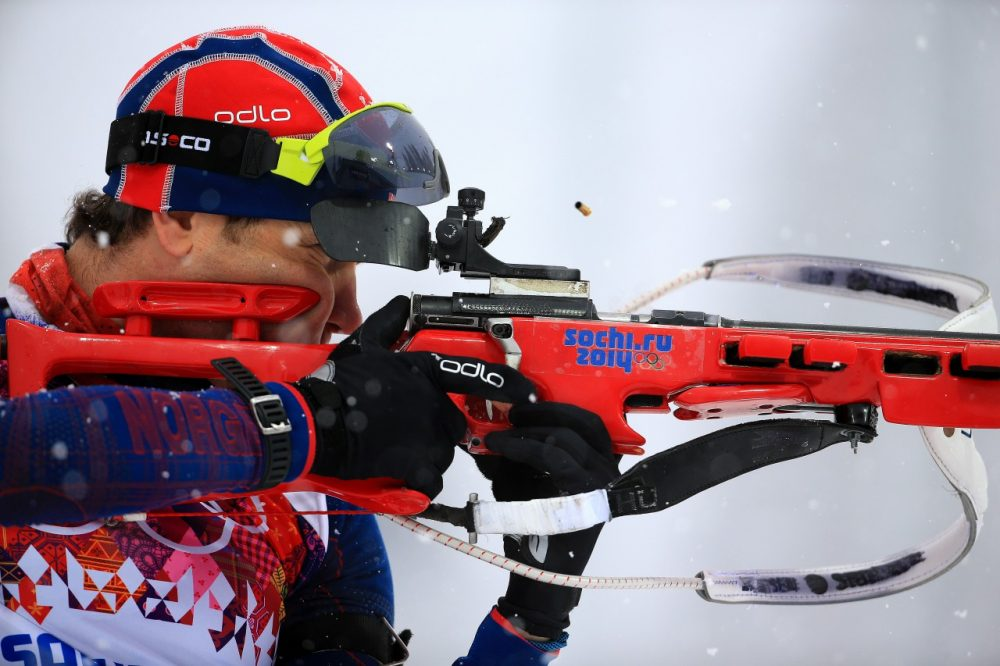 Call Ole Bjoerndalen of Norway the Michael Phelps of the Winter Olympics.  He is the most decorated Winter Olympian of all time. (Richard Heathcote/Getty Images)