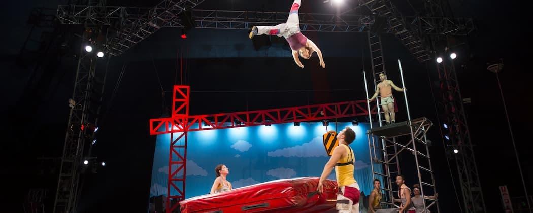 The performers of Circus Oz.  (Rob Blackburn)