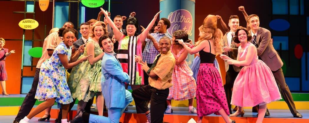 """The cast of """"Hairspray.""""  (Gary Ng)"""