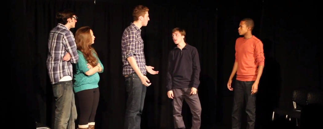 Emerson College's Comedy Group, Jimmy's Traveling All-Stars, Perform. (JTAcomedy, YouTube)