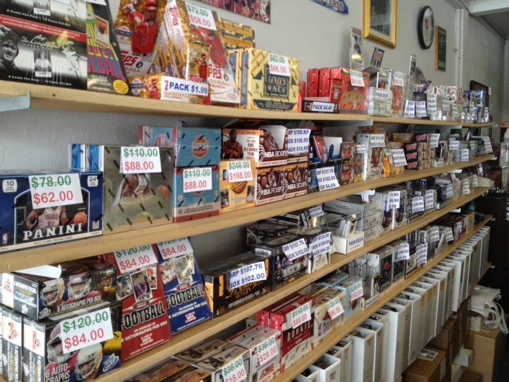 At Jerry's shop, baseball cards range in price from a few dollars to several hundreds. (Scott Graf/Only A Game)