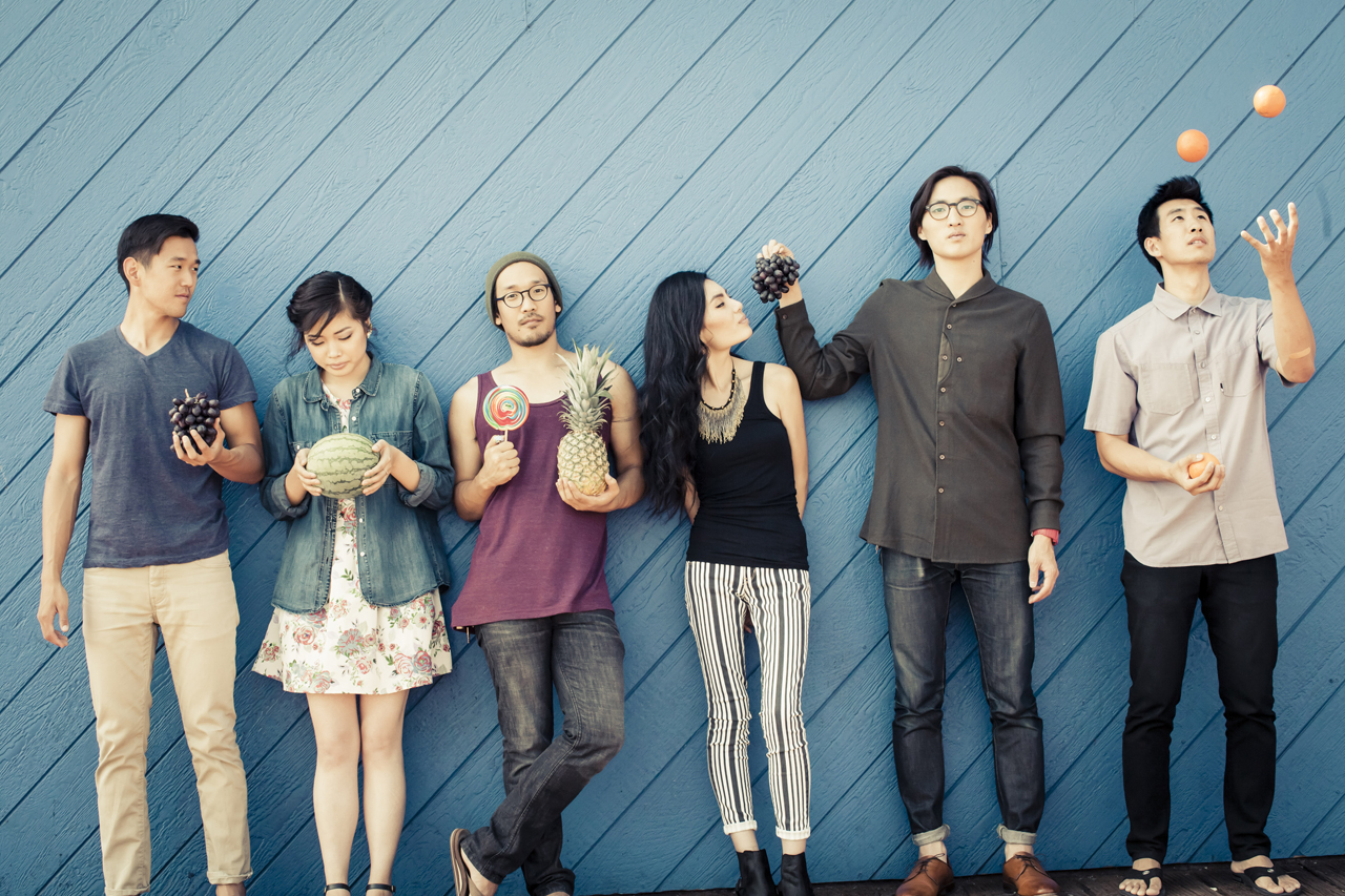 Run River North is a Korean-American indie folk-rock band from Los Angeles. (Catie Lafoon)