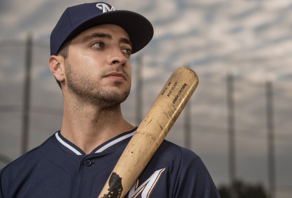 ESPN's Tim Kurkjian says Ryan Braun will face heavy scrutiny this year, but he expects the disgraced slugger to continue smacking home runs. (Rob Tringali/Getty Images)