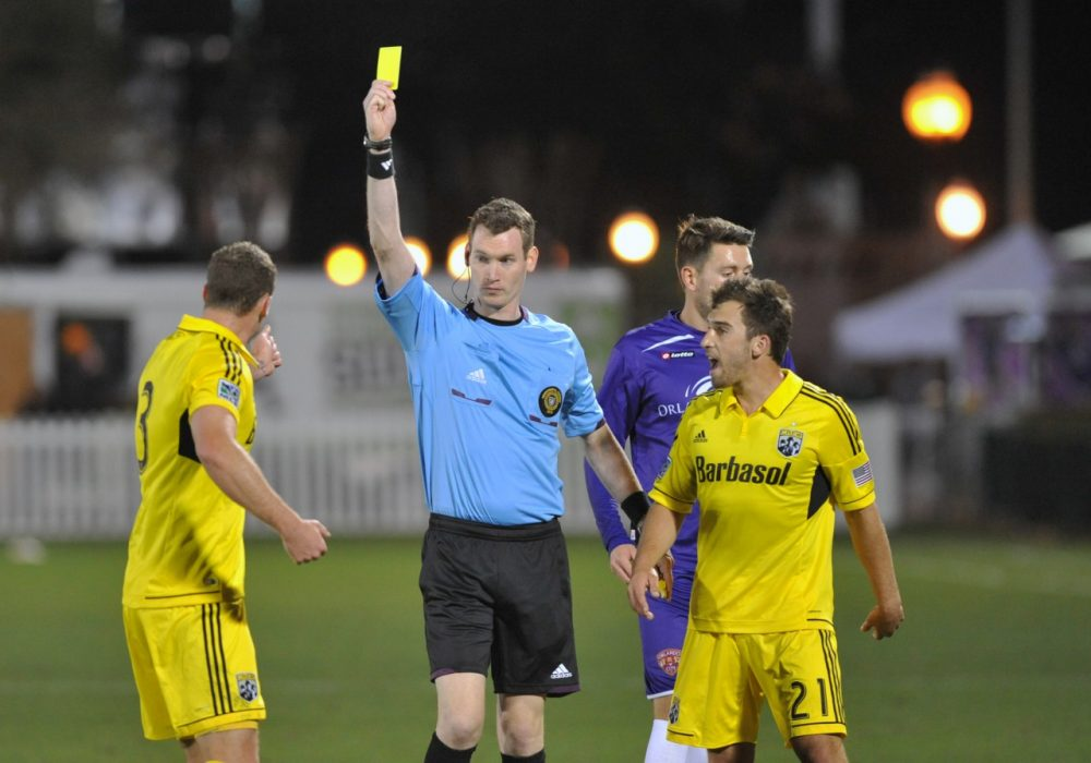 MLS referees united to form the Professional Soccer Referees Association. (Al Messerschmidt/Getty Images)