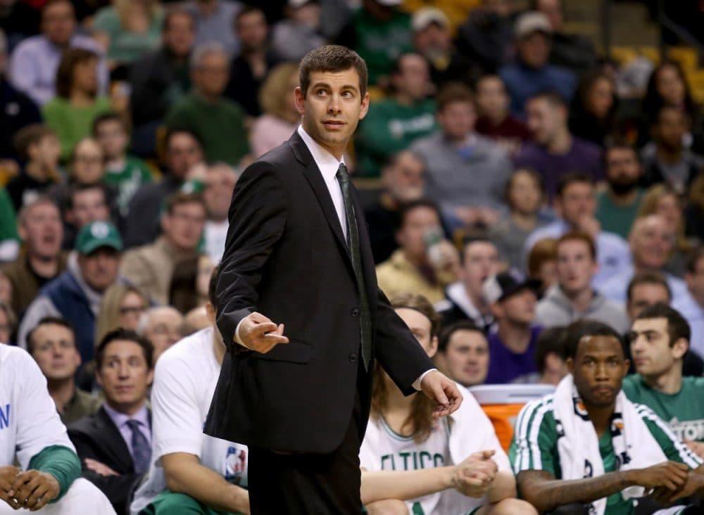 Celtics head coach Brad Stevens (Mary Schwalm/AP)