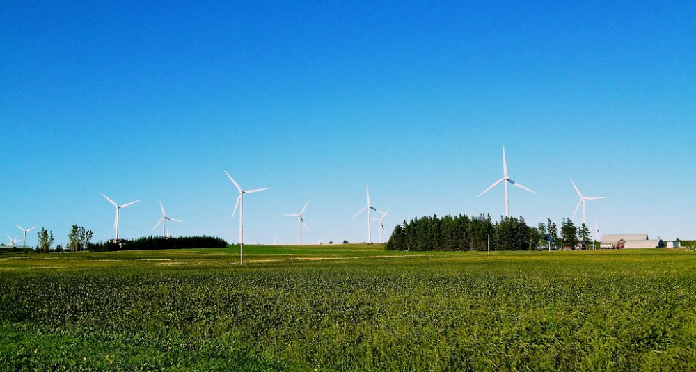 Gov. Patrick hopes to develop enough wind-generated electricity to power 800,000 homes by 2020 -- just four years from now. (Laurence Lui/Flickr)