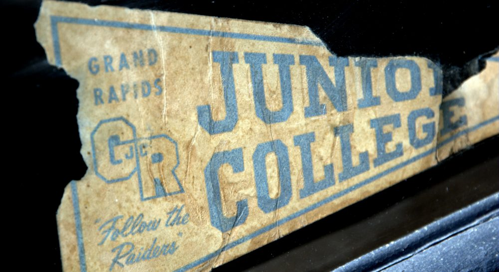 Just in time for college admissions season, a primer on the history of the bumper sticker. (Steve Snodgrass/flickr)