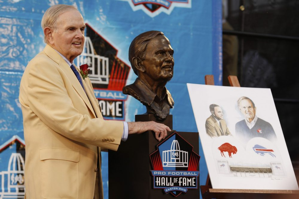 Ralph Wilson, who founded the Buffalo Bills, passed away at 95. (Joe Robbins/Getty Images)