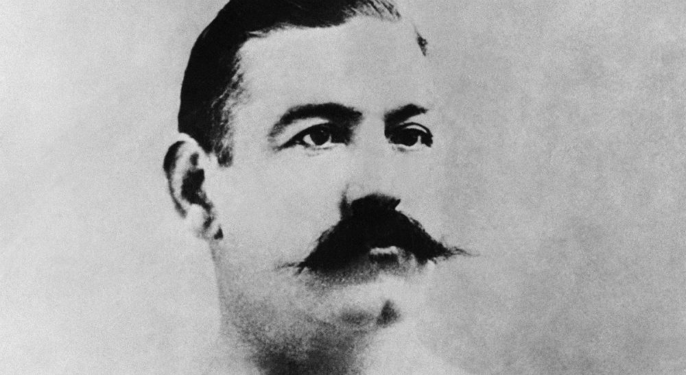 Christopher Klein: As we celebrate the Celtic contributions to the city this St. Patrick's Day, it's time to remember the native son who embodied the legendary spirit of the fighting Irish, John L. Sullivan. Sullivan is shown here in an undated photo. (AP)